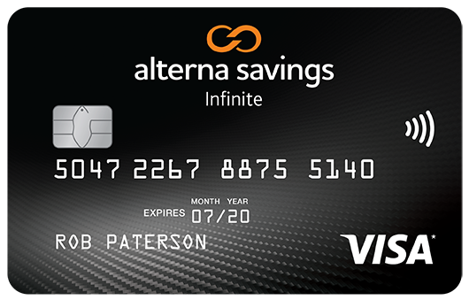 Infinite VISA Card