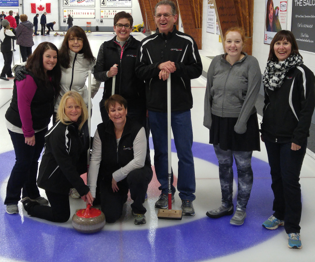 Quinte First Staff Curling