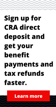 CRA Direct Deposit Enrolment