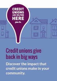 Credit Unions are helping banner